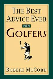 Cover of: The Best Advice Ever For Golfers