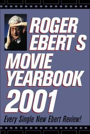 Cover of: Roger Ebert'S Movie Yearbook 2001