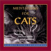 Cover of: Meditations For Cats