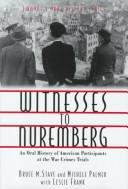 Cover of: Oral History Series - Witnesses to Nuremberg