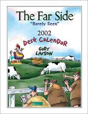 "Cover of: The Far Side ""Rarely Seen"" 2002 Desk Calendar"