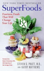 Cover of: SuperFoods Rx | Steven G. Pratt