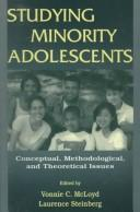 Cover of: Studying Minority Adolescents |