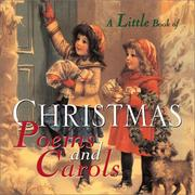 Cover of: A Little Book Of Christmas Poems and Carols