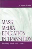 Cover of: Mass media education in transition