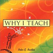 Cover of: Why I Teach