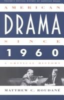 Cover of: American drama since 1960