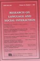 Cover of: Gender Construction in Children's Interactions