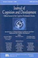 Cover of: U-shaped Changes in Behavior and Their Implications for Cognitive Development