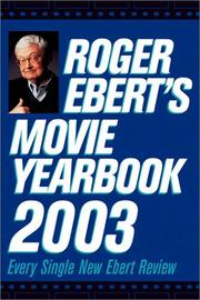 Cover of: Roger Ebert's Movie Yearbook 2003