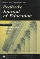 Cover of: Assessing Teacher, Classroom, and School Effects (Peabody Journal of Education)