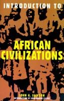 Cover of: Introduction To African Civilizations