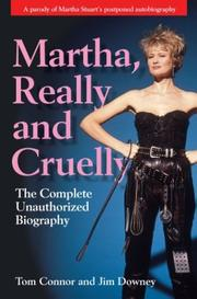 Cover of: Martha, really and cruelly
