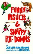 Cover of: Funny Insults and Snappy Put-Downs