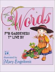 Cover of: Words For Gardeners