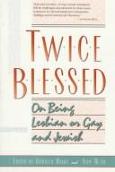 Cover of: Twice Blessed |