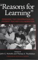Cover of: Reasons for Learning | John G. Nicholls