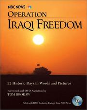 Cover of: Operation Iraqi Freedom
