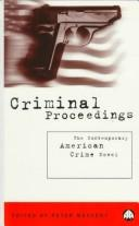 Cover of: Criminal Proceedings | Peter Messent