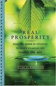 Cover of: Real Prosperity