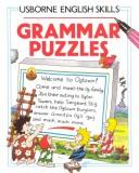 Cover of: Grammar Puzzles (Usborne English Skills)