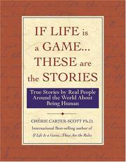 Cover of: If Life Is a Game...These Are The Stories