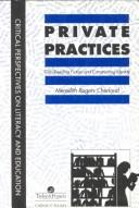 Cover of: Private Practices | Meredith Cherla