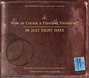Cover of: How to Create a Flawless Universe