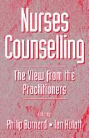 Nurses Counselling by Philip Burnard, Ian Hulatt
