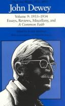 Cover of: John Dewey