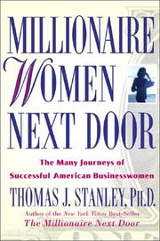 Cover of: Millionaire Women Next Door