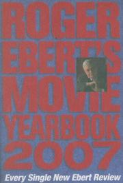 Cover of: Roger Ebert's Movie Yearbook 2007 (Roger Ebert's Movie Yearbook)