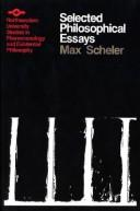 Cover of: Selected Philosophical Essays (SPEP)