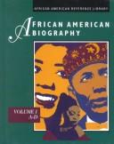 Cover of: African American Biography - Volumes 1-4 | UXL