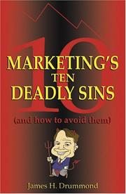 Cover of: Marketing's 10 Deadly Sins (and How to Avoid Them)