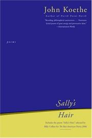 Cover of: Sally's Hair: Poems