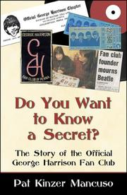 Cover of: Do You Want to Know a Secret? | Pat Kinzer Mancuso
