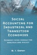 Cover of: Social Accounting for Industrial and Transition Economies