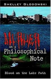 Cover of: Murder on a Philosophical Note