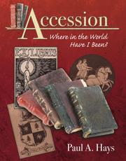 Cover of: Accession