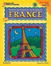 Cover of: Countries and Cultures for Young Explorers, France (Countries and Cultures for Young Explorers)