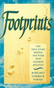 Footprints by Margaret Fishback Powers