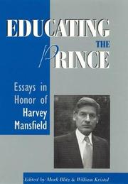 Cover of: Educating the Prince