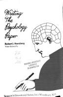 Cover of: Writing the psychology paper