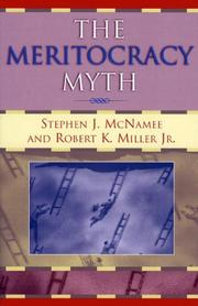 Cover of: The  Meritocracy Myth