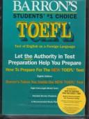 Cover of: How to prepare for the TOEFL test | Pamela J. Sharpe