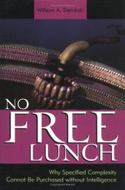 Cover of: No Free Lunch