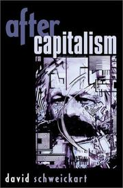 Cover of: After Capitalism (New Critical Theory) | David Schweickart