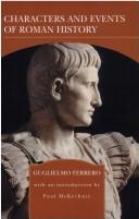Cover of: Charter and Events of Roman History