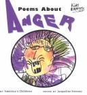 Cover of: Poems about anger |